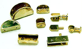 Glass Brackets Hinges